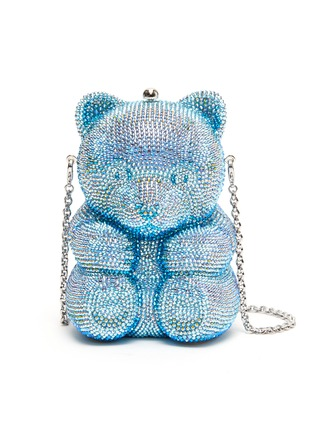 Main View - Click To Enlarge - JUDITH LEIBER - 'Teddy Gummy Bear' crystal pavé minaudière