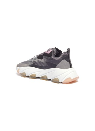 - ASH - 'Eclipse' chunky outsole suede panel ripstop sneakers
