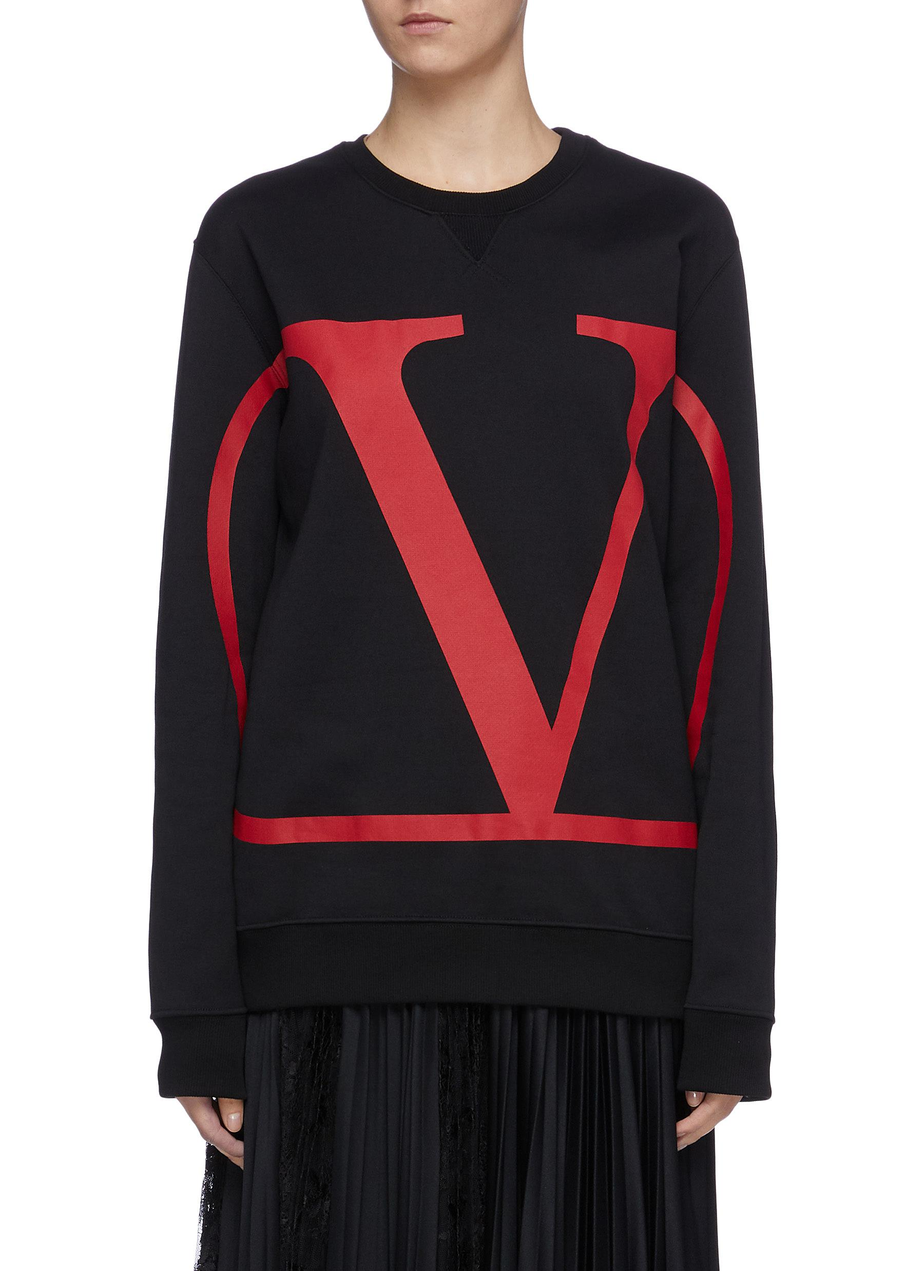 VLOGO print sweatshirt by Valentino