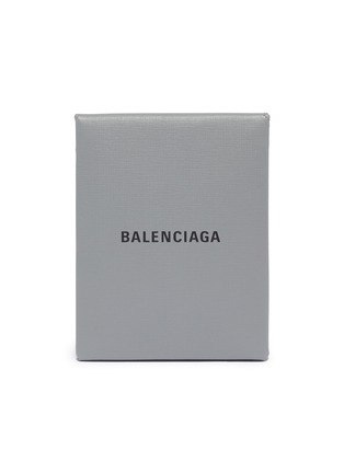 Main View - Click To Enlarge - BALENCIAGA - 'Shopping' leather envelope clutch