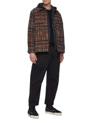 Figure View - Click To Enlarge - SONG FOR THE MUTE - Woven shirt jacket