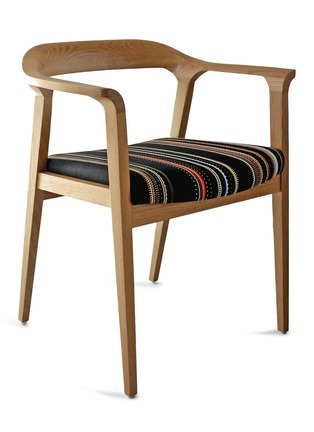 Main View - Click To Enlarge - CHANNELS - WILLOW Limited EDITION WALNUT CHAIR