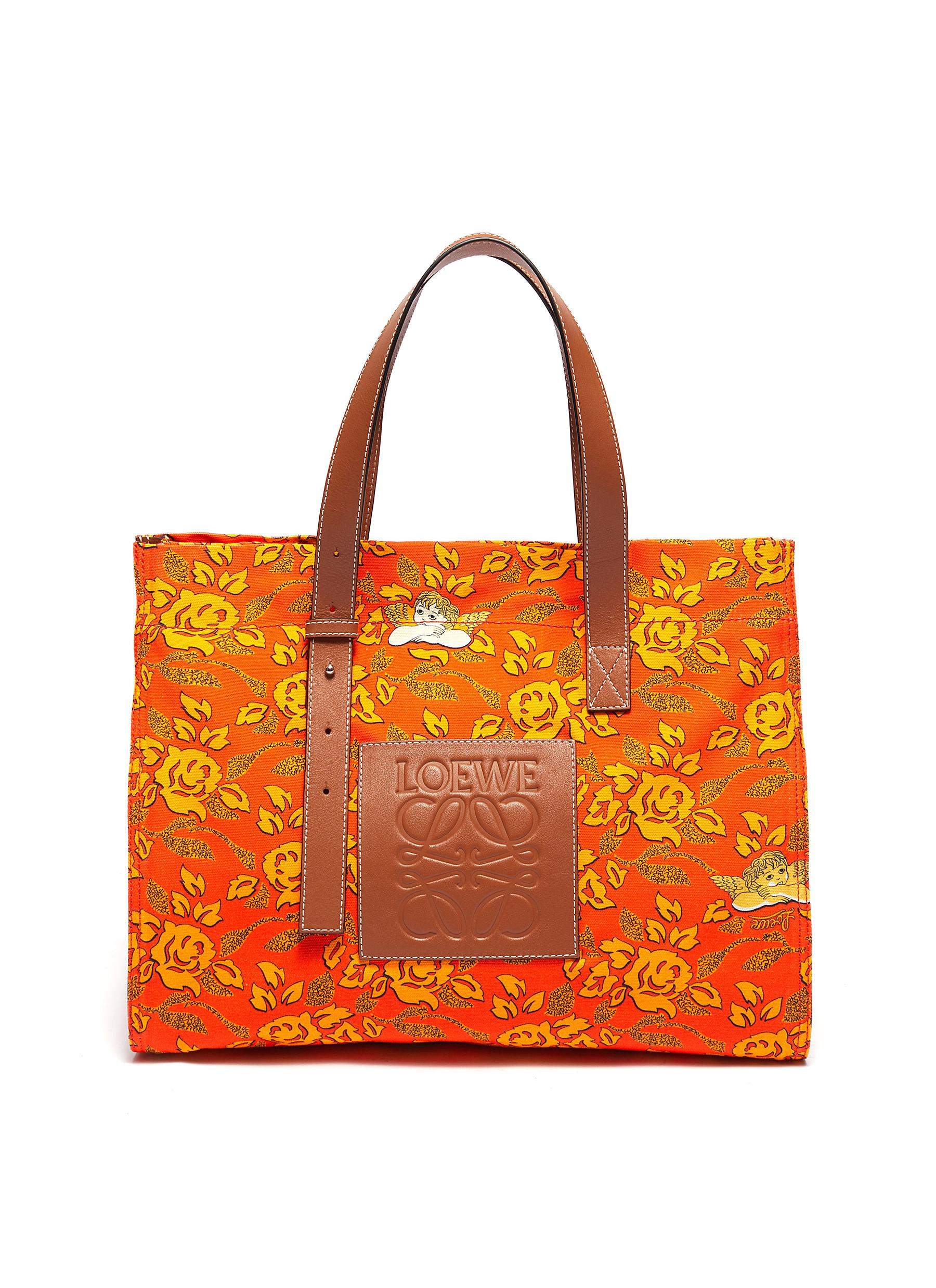 37c2c2d1e24eeb Main View - Click To Enlarge - LOEWE - x Paula's Ibiza leather logo patch  floral