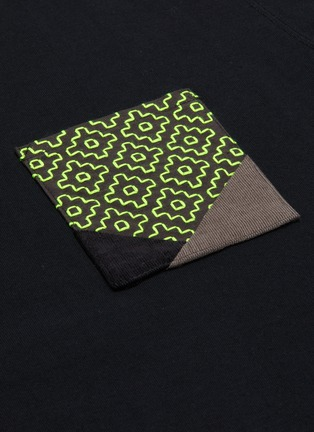 - FDMTL - Sashiko chest pocket T-shirt