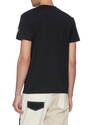 Back View - Click To Enlarge - FDMTL - Sashiko chest pocket T-shirt