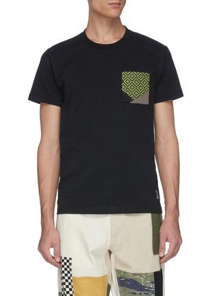 Main View - Click To Enlarge - FDMTL - Sashiko chest pocket T-shirt