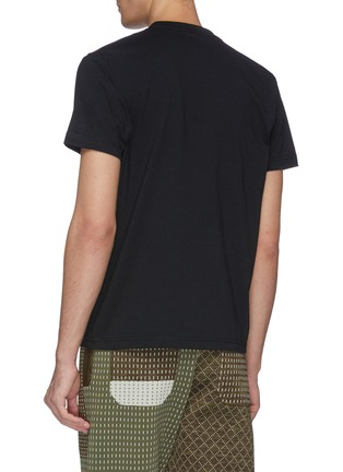 Back View - Click To Enlarge - FDMTL - Sashiko camouflage print T-shirt