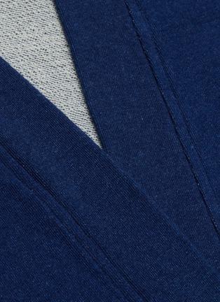 - FDMTL - Logo appliqué cuff open cardigan