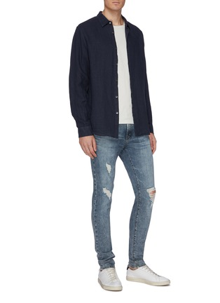 Figure View - Click To Enlarge - J BRAND - 'Mick' ripped skinny jeans