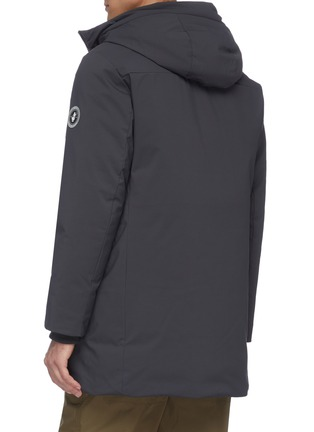 Back View - Click To Enlarge - SAVE THE DUCK - Plumtech® lined hooded puffer parka