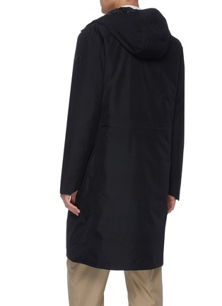 Back View - Click To Enlarge - SAVE THE DUCK - Gore-Tex® lined hooded parka