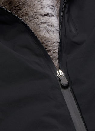 - SAVE THE DUCK - Faux fur lined hooded jacket