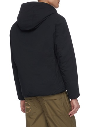 Back View - Click To Enlarge - SAVE THE DUCK - Faux fur lined hooded jacket