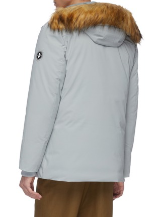 Back View - Click To Enlarge - SAVE THE DUCK - Plumtech® lined fur hood parka