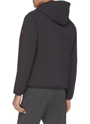 Back View - Click To Enlarge - SAVE THE DUCK - 'Matt' reversible waterproof puffer jacket