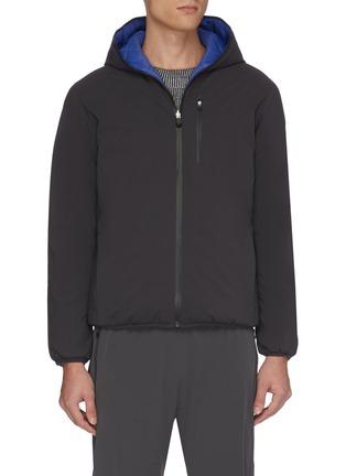 Main View - Click To Enlarge - SAVE THE DUCK - 'Matt' reversible waterproof puffer jacket