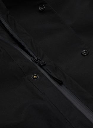 - NORSE PROJECTS - 'Ystad' retractable hood Gore-Tex down waterproof jacket