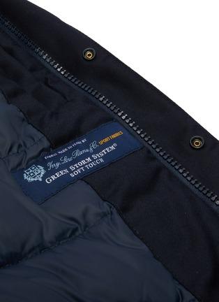 - NORSE PROJECTS - 'Loro Piana' hooded waterproof down wool jacket