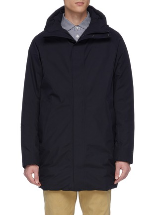 Main View - Click To Enlarge - NORSE PROJECTS - 'Rokkvi 5.0' Gore-Tex waterproof down hooded parka