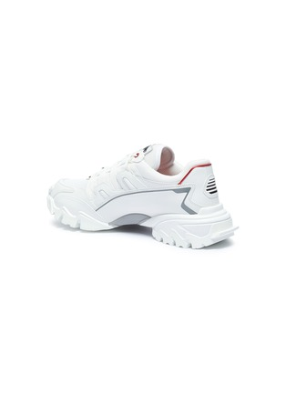 - VALENTINO - 'Climbers' VLOGO mesh and leather sneakers