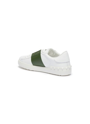 - VALENTINO - Valentino Garavani 'Open' colourblock leather sneakers