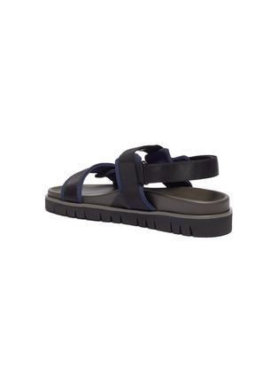 - VALENTINO - 'VLOGO' buckle slingback sandals