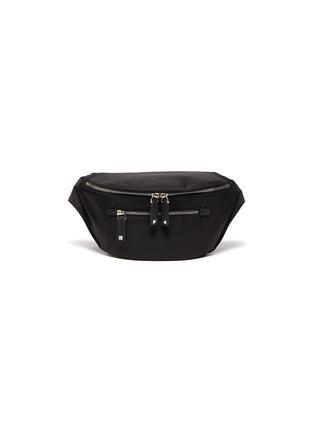 Main View - Click To Enlarge - VALENTINO - 'VLTN' logo strap bum bag