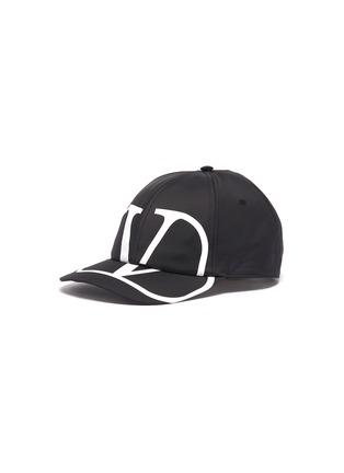 Main View - Click To Enlarge - VALENTINO - 'VLOGO' print baseball cap