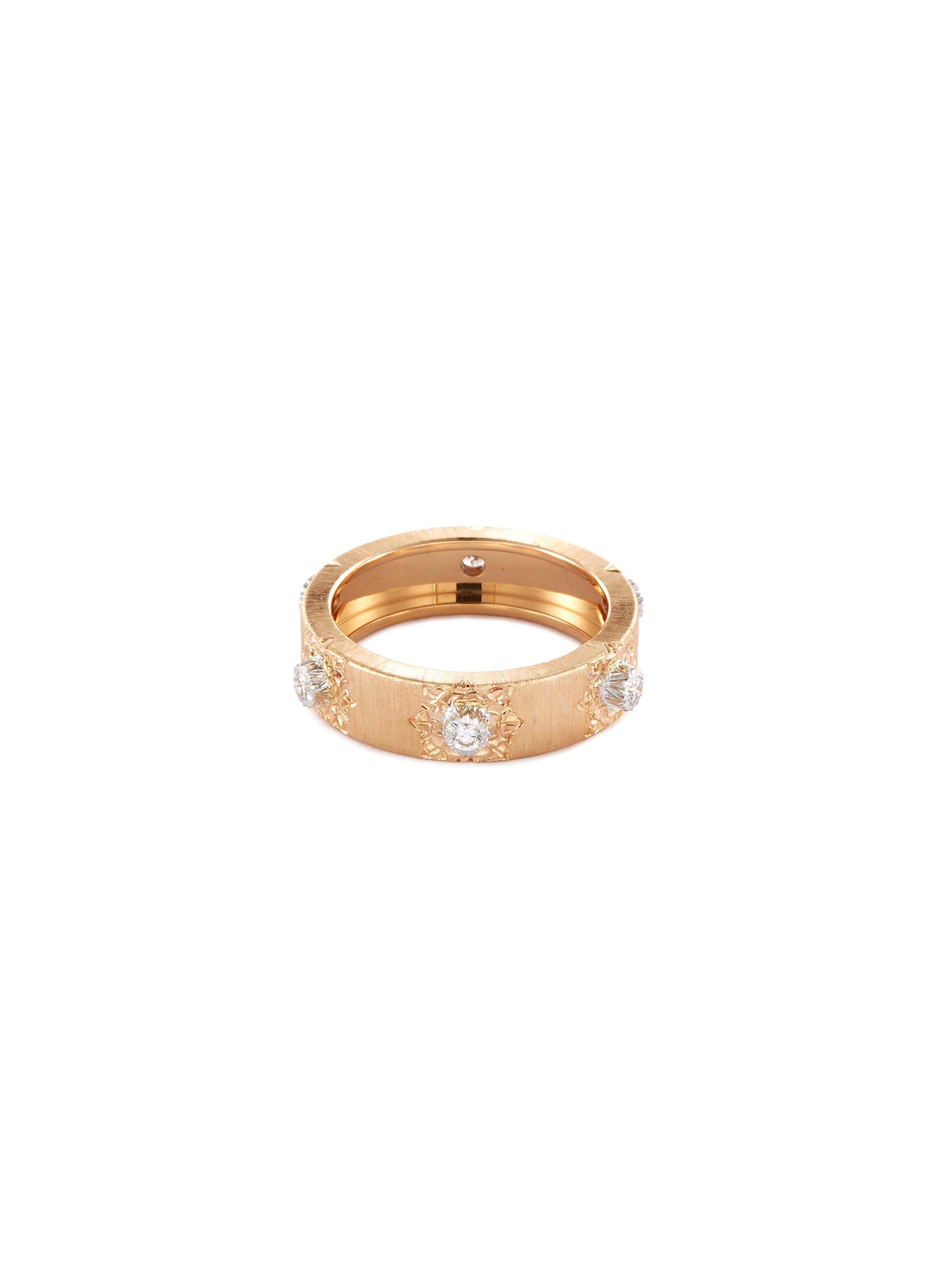 Macri' diamond gold ring - BUCCELLATI - Modalova