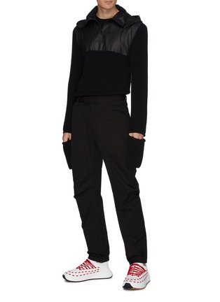 Figure View - Click To Enlarge - BOTTEGA VENETA - Straight leg pants