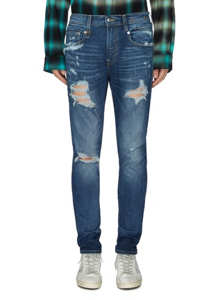 Main View - Click To Enlarge - R13 - Ripped skinny jeans