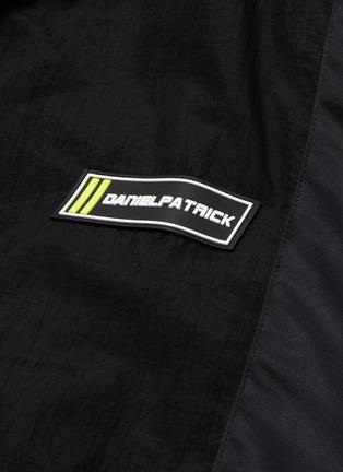 - DANIEL PATRICK - '2020' retractable hood track jacket