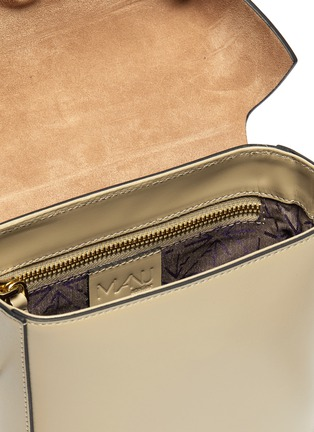 Detail View - Click To Enlarge - MANU ATELIER - 'Pristine' mini leather crossbody bag