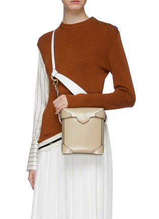 Figure View - Click To Enlarge - MANU ATELIER - 'Pristine' mini leather crossbody bag