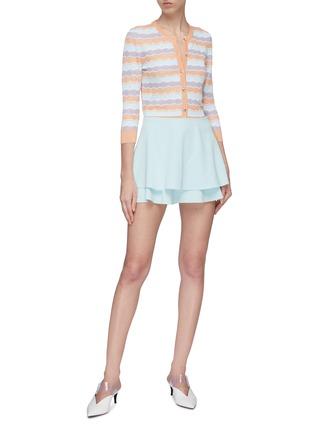 Figure View - Click To Enlarge - alice + olivia - 'Makenzie' stripe cardigan