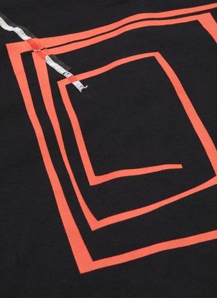 - KIKO KOSTADINOV - '0007' graphic print long sleeve T-shirt