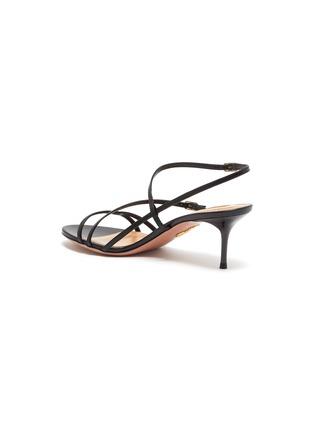 - AQUAZZURA - 'Carolyne' strappy leather sandals