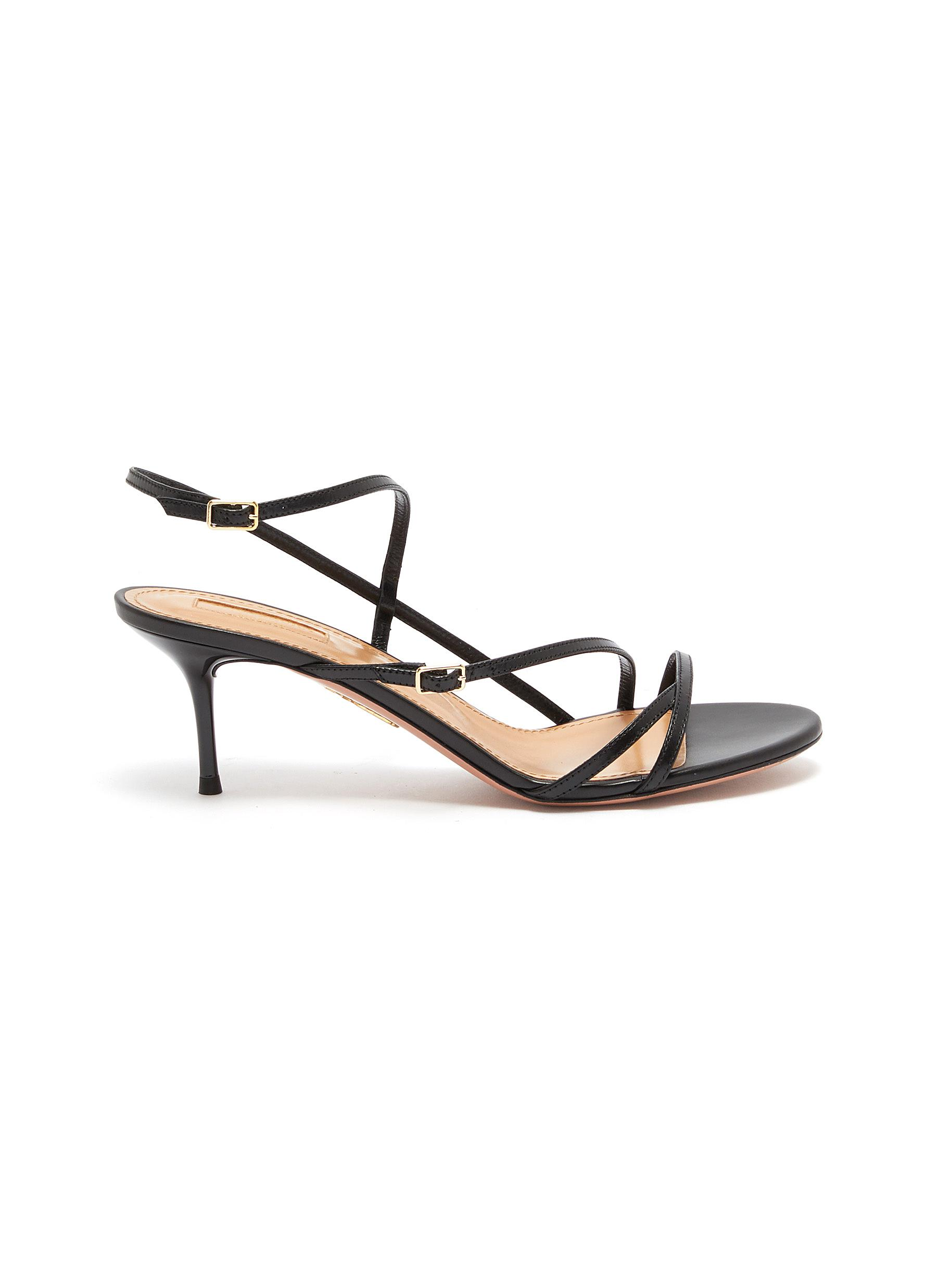 Carolyne strappy leather sandals by Aquazzura