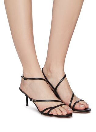Figure View - Click To Enlarge - AQUAZZURA - 'Carolyne' strappy leather sandals