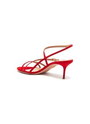 - AQUAZZURA - 'Carolyne' strappy suede sandals