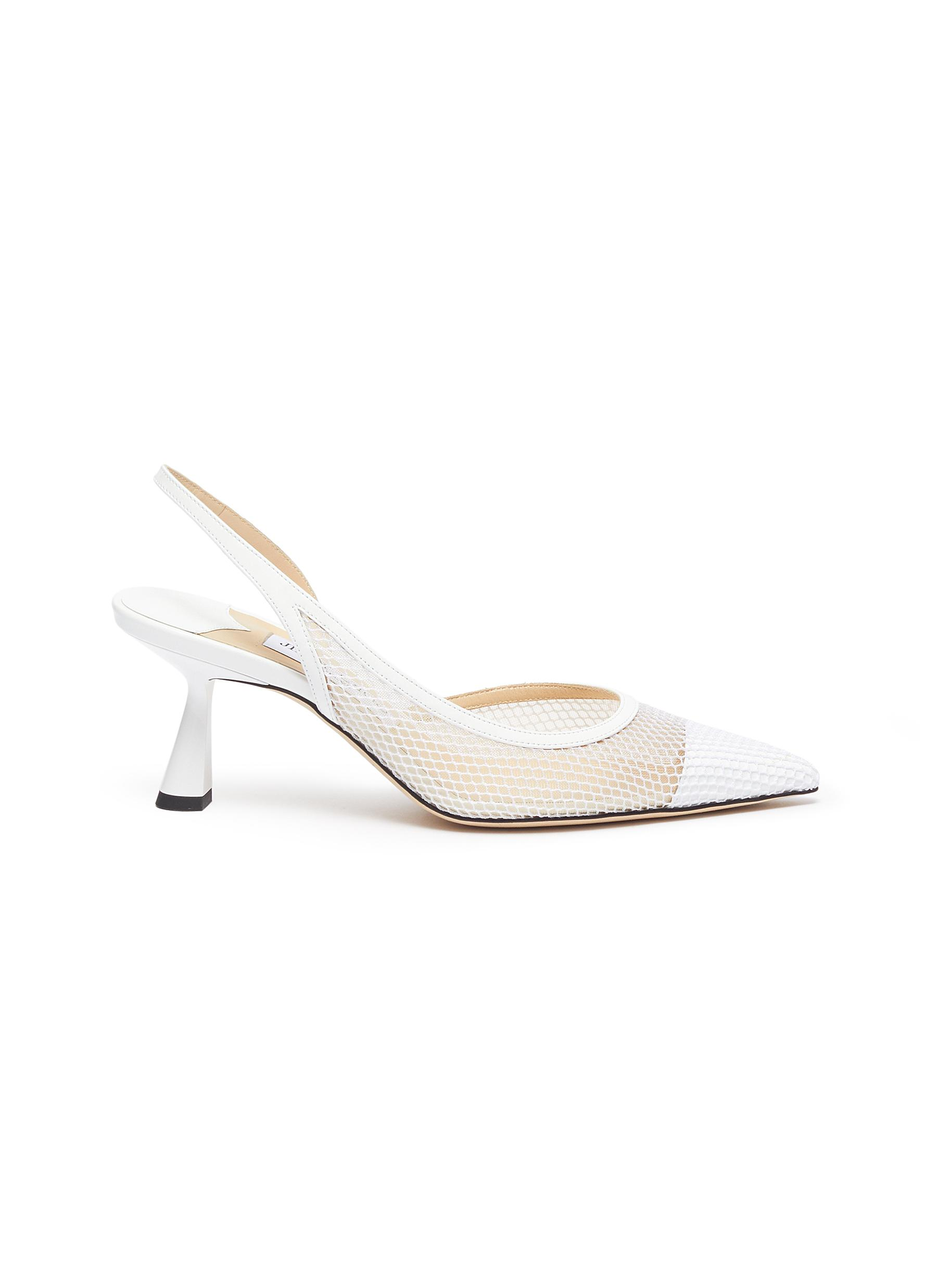 Fetto 65 mesh slingback pumps by Jimmy Choo