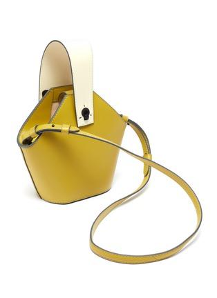 Detail View - Click To Enlarge - DANSE LENTE - 'Johnny' mini hexagonal leather bag
