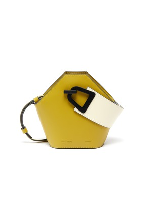 Main View - Click To Enlarge - DANSE LENTE - 'Johnny' mini hexagonal leather bag