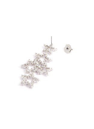 Detail View - Click To Enlarge - CZ BY KENNETH JAY LANE - Cubic zirconia cutout star drop earrings