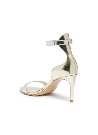 - SOPHIA WEBSTER - 'Nicole' ankle strap mirror leather sandals