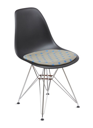 - HERMAN MILLER - x Paul Smith and Maharam Eames moulded chair – Dots