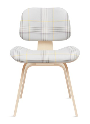 Main View - Click To Enlarge - HERMAN MILLER - x Paul Smith and Maharam Eames moulded chair –Mingled Plaid