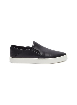 Main View - Click To Enlarge - VINCE - 'Garvey' leather step-in skate slip-ons