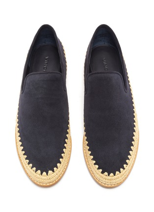Detail View - Click To Enlarge - VINCE - 'Jalen' suede espadrille slip-ons