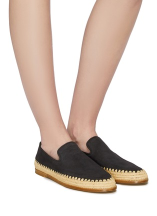 Figure View - Click To Enlarge - VINCE - 'Jalen' suede espadrille slip-ons